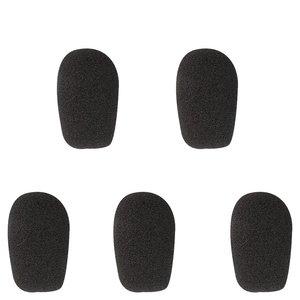 WHIS windkapjes voor headset zwart